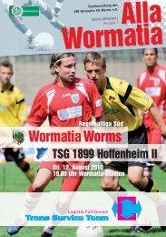 Alla Wormatia - Wormatia Worms