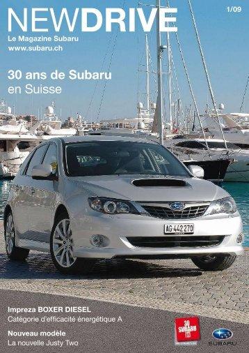 NEWDRIVE Nr. 01/09 - Subaru