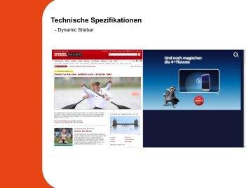 Dynamic Sitebar - Spiegel-QC