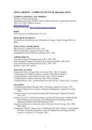 CV (pdf) - SLU