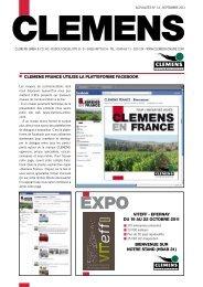 Septembre 2011 - Clemens Gmbh & Co. KG