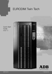 12 ARTNET - ADB Lighting Technologies