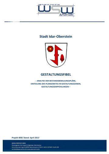 Gestaltungsfibel - Idar-Oberstein