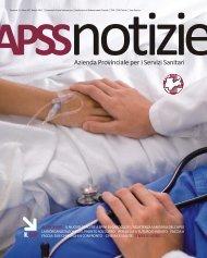 apss notizie, n. 1, anno 10 - Azienda Provinciale per i Servizi Sanitari