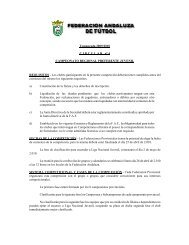 Temporada 2009/2010 CIRCULAR nº 4 CAMPEONATO REGIONAL ...