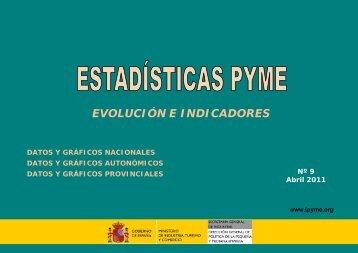 Estadísticas territoriales 2011 - Dirección General de Política de la ...