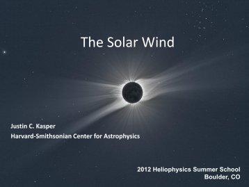 The Solar Wind - VSP | UCAR Visiting Scientist Programs