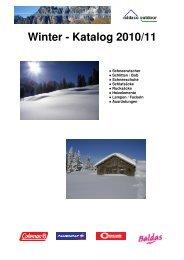 Winter - Katalog 2010/11 - midaco outdoor