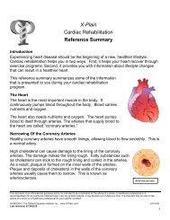 Cardiac Rehabilitation - Patient Education Institute