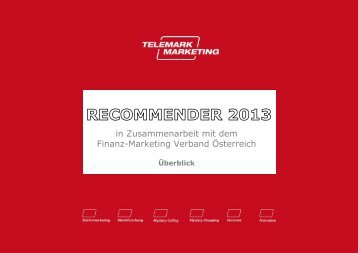 Recommender 2013 - Telemark Marketing