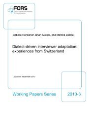 Dialect-driven adaptation: Experiences from ... - Bad Request