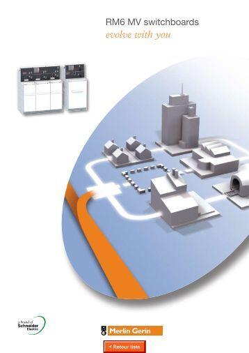 catalog rm6 promotionnal leaflet - engineering site - Schneider Electric