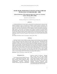 11.pdf - Balai Besar Penelitian Veteriner - Departemen Pertanian