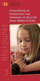 Download (PDF) - Bund der Freien Waldorfschulen