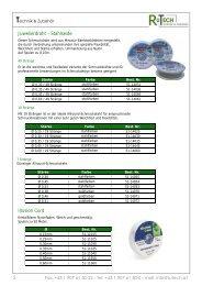 Produktübersicht (PDF)