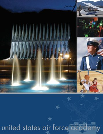 2008-2009 Catalog - United States Air Force Academy