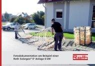 Solar-Wärmepumpen Energiesystem Fotobuch - Roth Werke