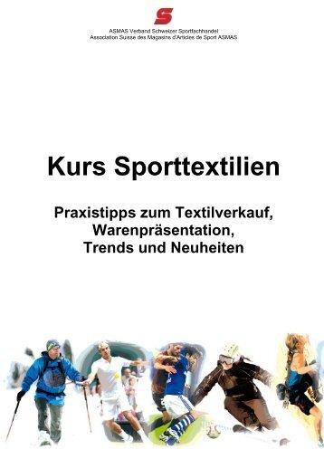 Kurs Sporttextilien - sportbiz.ch