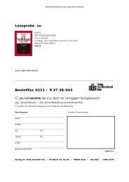 Vorwort - Verlag Dr. Otto Schmidt