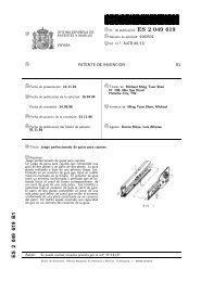 2049619 . B1 - Oficina Española de Patentes y Marcas