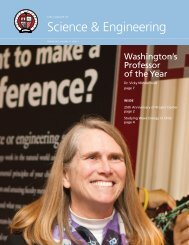 2012 Spring - Science & Engineering Newsletter - Seattle University