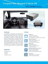 Compact Size Rugged Vehicle PC - Giantec Inc.