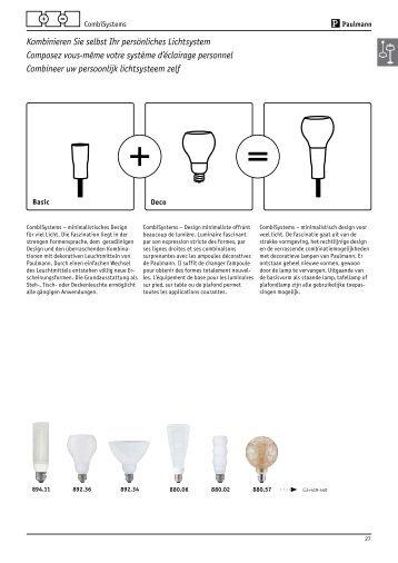 Kombinieren Sie selbst Ihr persönliches Lichtsystem ... - DeTech-Shop
