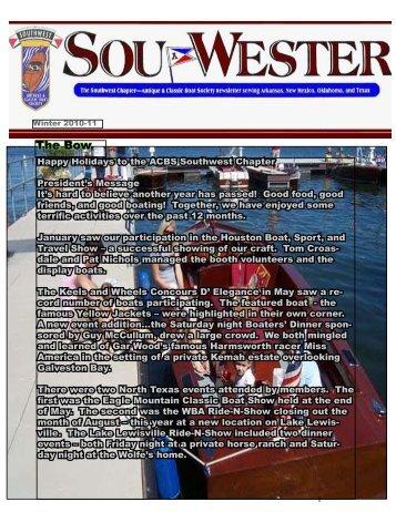 Winter 2010 - Southwest ACBS