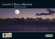 mondo | floor collection - Kosche