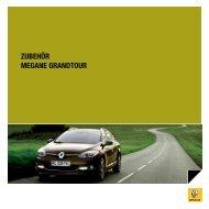 ZUBEHÖR MEGANE GRANDTOUR - Renault