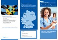 Program For medical specialists From Foreign Countries