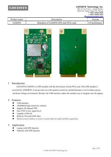 Internal GPS Module - CarTFT.com