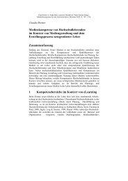 Medienkompetenz von Hochschullehrenden im ... - Claudia Bremer