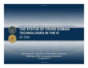view pdf presentation - Owl Computing Technologies, Inc.