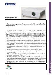 Epson EMP-6100 E p son EMP-6100