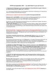 NEWS im September 2013 - Frauenärzte im Netz