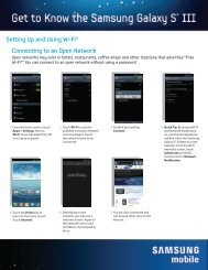 Setting Up and Using Wi-Fi® Connecting to an Open ... - US Cellular