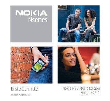 Erste Schritte - Nokia