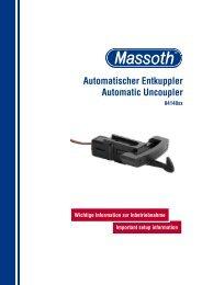 Automatischer Entkuppler Automatic Uncoupler - Hobbytime