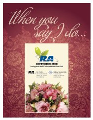 When You Say I Do - Frequently Asked Questions - RA Centre