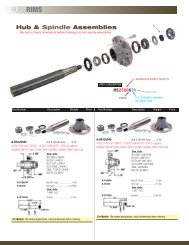 Ag Supply - Weld-On Axles & Hubs - Trusty Tractor