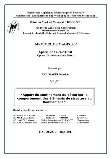 memoire 14 JUIN 2011 - Université Mouloud Mammeri de Tizi Ouzou