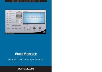 VOICEMODELER - TC-Helicon