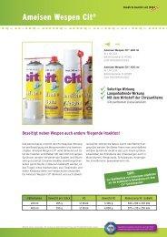 Ameisen Wespen Cit® - Cit Fabrik chemisch