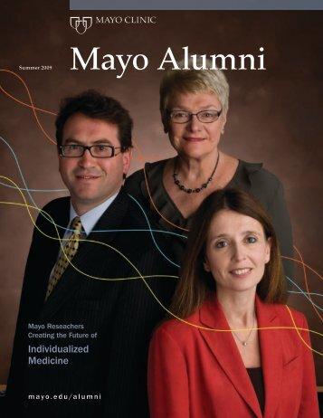 Mayo Alumni Magazine 2009 Summer - mc4409-0809 - Mayo Clinic