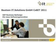 Bautzen IT.Solutions GmbH CeBIT 2011 - Unternehmensfreude