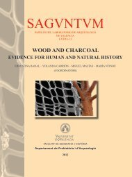 Wood charcoal analyses from the Muge shell middens - SAPaC