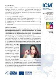 Newsletter 03/2013 - ICM - Institut Chemnitzer Maschinen
