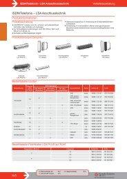 4-6 ISDN/Telefonie – LSA Anschlusstechnik
