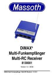Dimax® Multi-Funkempfänger Multi-Rc Receiver - Champex-Linden